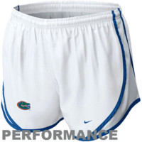 Nike Florida Gators Ladies Tempo Performance Short - White