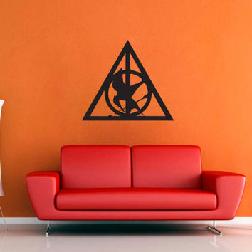 Mocking Jay's Deathly Hallows - Wall Decal