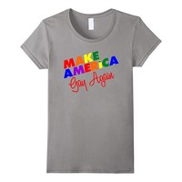 Make America Gay Again Shirt LGBTQ Shirt