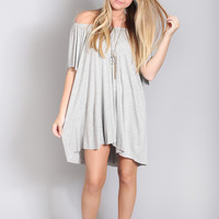 feel the breeze flowy tunic