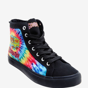Scooby-Doo Mystery Machine Tie Dye Hi-Top Sneakers