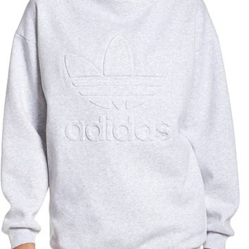 adidas Originals Mock Neck Sweatshirt | Nordstrom