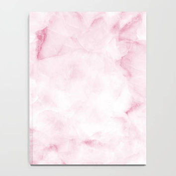 Marble Collection: Pink White Marble Journal, Marble Notebook, Lined & Unlined Notebook, Pink Marble Notebook, Beautiful Marble Journal