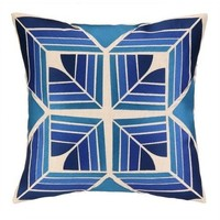 Gridley Cobalt Blue Pillow