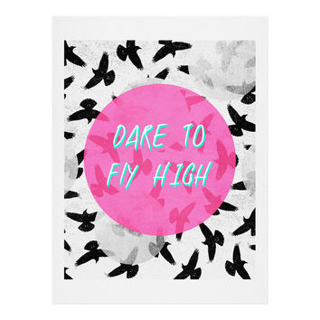 Elisabeth Fredriksson Dare To Fly High Art Print