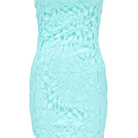 Layla Lace Bandeau Bodycon Dress