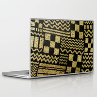 Gold Fuse Laptop & iPad Skin by Nick Nelson   Society6