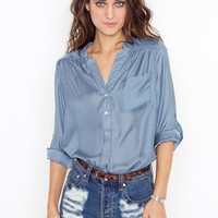 In A Haze Blouse in  Clothes at Nasty Gal