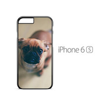 Puppy Eyes pug iPhone 6s Case