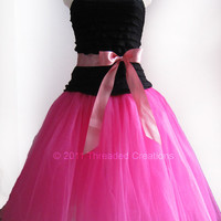 Custom Tutu Dress Tutu Gown You Choose Your by threadedcreations