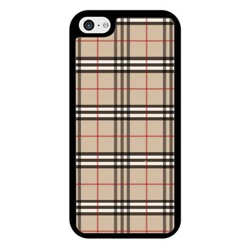 Burberry 2 iPhone 5/5S/SE Case