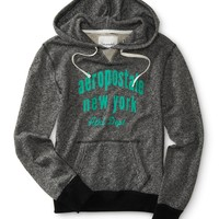 Aeropostale Womens New York Athletic Popover Hoodie