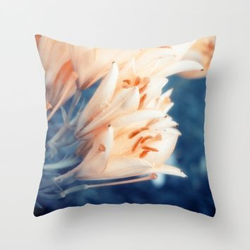 Lilies Throw Pillow by Cinema4design