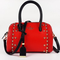 hot sale kate spade women red handbag