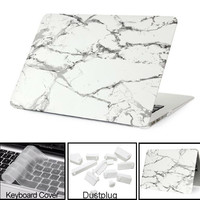 New Marble Texture Case for Macbook Air 13 Case Pro 13 Pro Retina 12 13.3 15 inch laptop