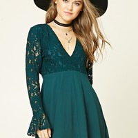 Crochet Lace Combo Dress