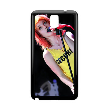 Hayley Williams Paramore Singer Samsung Galaxy Note 3 Case