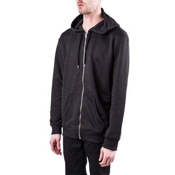 A.P.C. Zip-Up Hooded Sweatshirt (Black) – RSVP Gallery