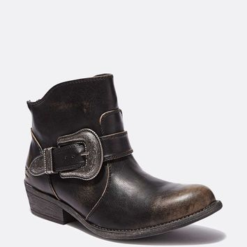 Buckle Up Ankle Boot