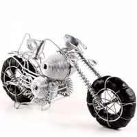 Recycled Metal Harley Davidson Motorcycle