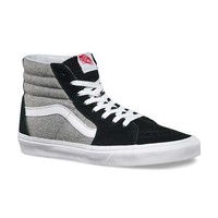 Vans SK8-HI Shoes in Black and Grey VN-0TS9H1B