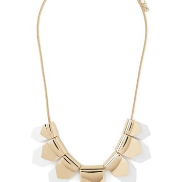 Geo Pendant Statement Necklace