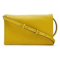 Banana Republic Foldover Crossbody Size One Size - Bright celery
