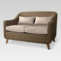 Mayhew All Weather Wicker Loveseat - Threshold™