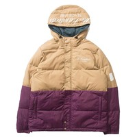 The Hundreds - Wrightwood Puffer Jacket - Khaki / Eggplant
