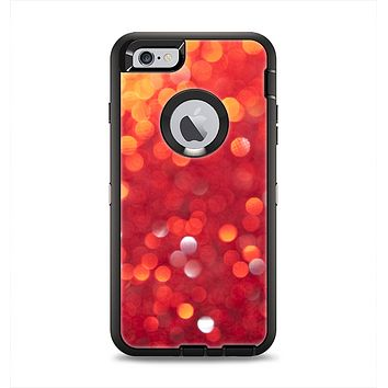 The Unfocused Red Showers Apple iPhone 6 Plus Otterbox Defender Case Skin Set