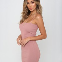 Buy Our Slim Love Dress in Blush Online Today! - Tiger Mist