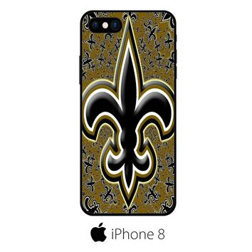 New Orleans Saints Sticker Logo IPHONE 8 | 8 PLUS