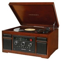 Crosley Patriarch Entertainment Center - Brown (CR7007A-MA)