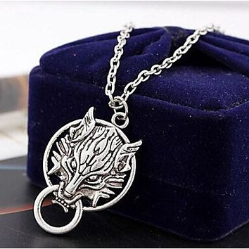 Women Men Vintage Dragon Pendant Retro Chain Necklace Jewelry Gift