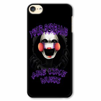 Five Nights At Freddy S The Marionette iPod Touch 6 Case