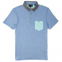 Contrast pocket polo - VIBEING - Ted Baker