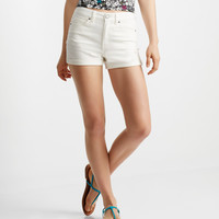 Seriously Stretchy High-Waisted Midi Shorts