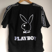 30% CLEARANCE SALE Vintage Playboy Big Logo T-Shirt Large