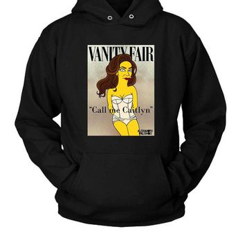 DCCKL83 Caitlyn Jenner Simpsons Hoodie Two Sided