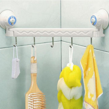 Bathroom Accessories Toothbrush and Towel Holder Bathroom Hookup of Large Sunction Banheiro Bathroom Set Free Shipping In Stock