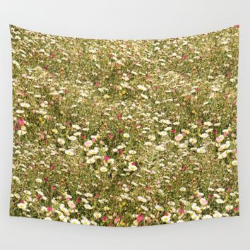 Daisy dreamer Wall Tapestry by anipani