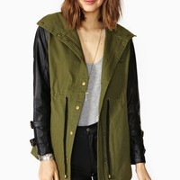Nasty Gal Off Duty Anorak
