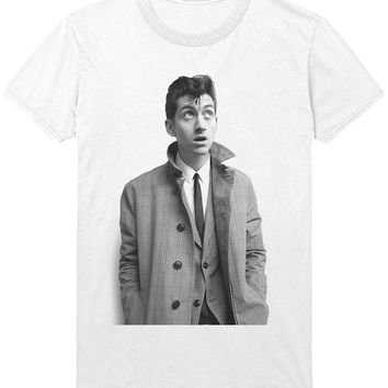 Alex Turner T-Shirt - Trench Coat - Arctic Monkeys Indie Rock Music Shirt Sweatshirt - Mens / Womens
