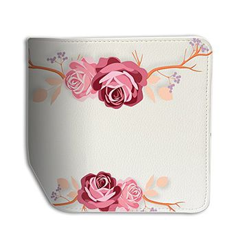 Floral Leather Business Passport Holder Protector Cover_SUPERTRAMPshop