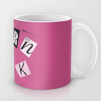 The ORIGINAL Burn Book design from the movie Mean Girls Mug by AllieR