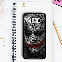 Joker Batman Avengers Samsung Galaxy S7  Case Dollarscase.com