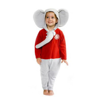 Alabama Crimson Tide NCAA Toddler Fleece Costume-Sleeper (Size 3-6M)