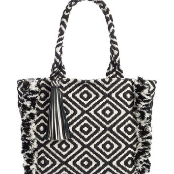 Rebecca Minkoff Fringed Woven Tote | Nordstrom