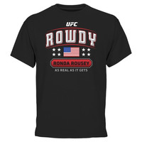 UFC Ronda Rousey Proud Fighter T-Shirt - Black - http://www.shareasale.com/m-pr.cfm?merchantID=7124&userID=1042934&productID=543374848 / UFC