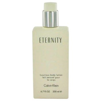 Eternity By Calvin Klein Body Lotion (unboxed) 6.7 Oz